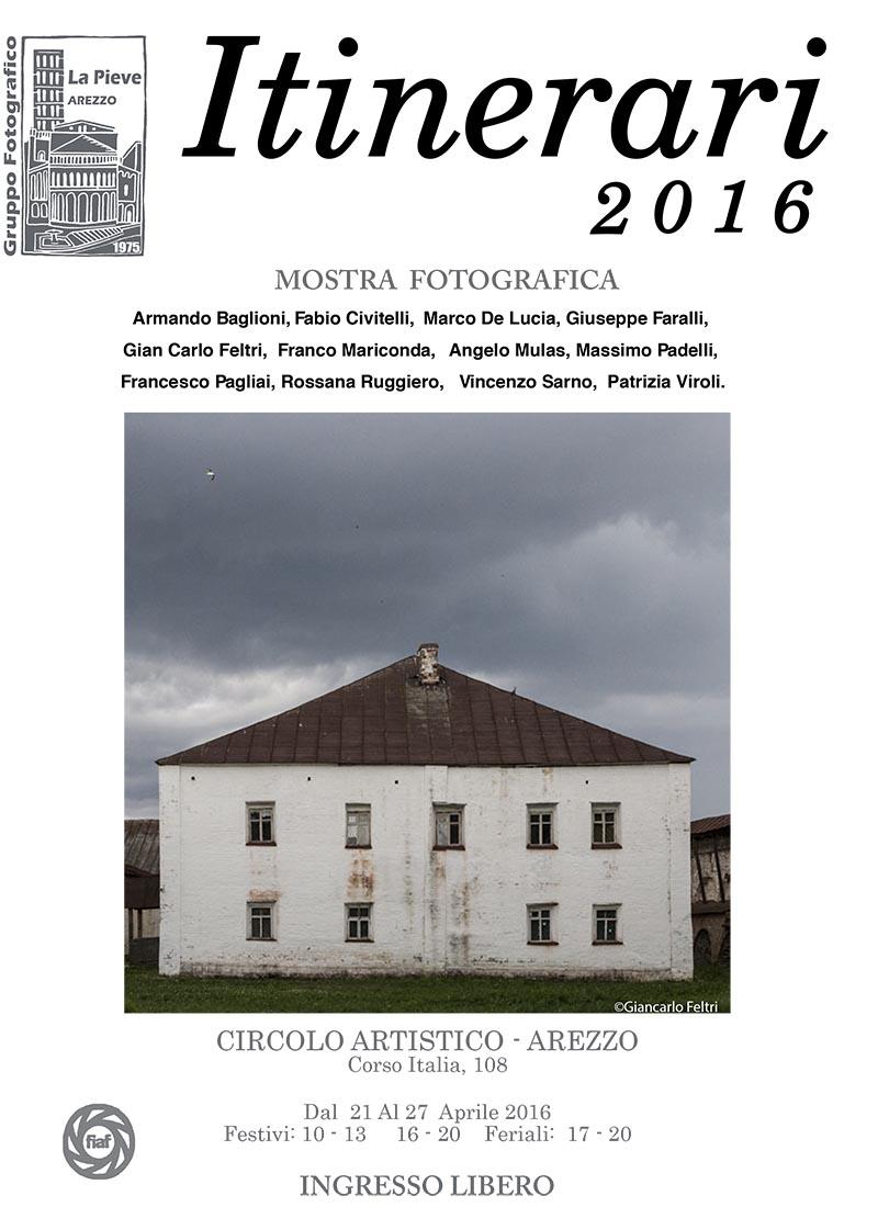 [personale] Mostra fotografica ITINERARI 2016 - C'ero anch'io!