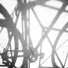 Ombra di bicicletta