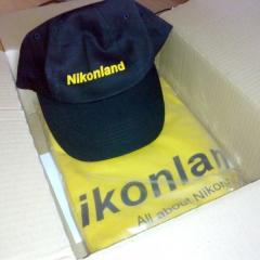 cappellino maglietta Nikonland