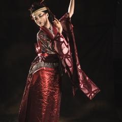 Waving like a Geisha