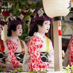 Geisha, Matsuri festival, Kyoto - Japan