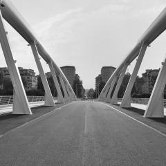 Ponte nuovo a Roma