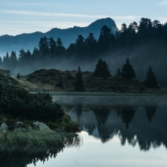 Lago superiore di Colbricon