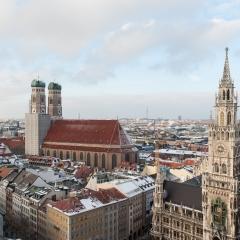 Dom und Rathaus, München.