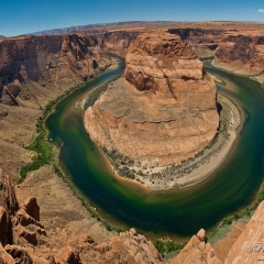 Horseshoe Bend, take a rest and enjoy an erosion ;)