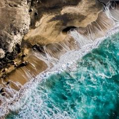 los colores de la tierra y el mar