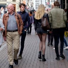 Per le vie di Amsterdam