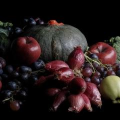 Verdure e frutta di stagione