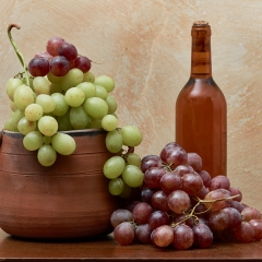 Dall'uva al vino.