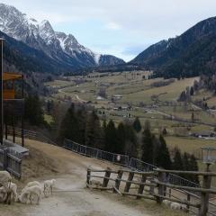 Al termine di una mattinata di trekking - scorcio verso Anterselva di Sopra e le Vedrette di Ries.