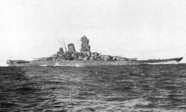 Immagine Allegata: Yamato_sea_trials_2.jpg