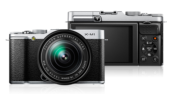 Immagine Allegata: Fuji-X-M1-compact-mirrorless-camera.jpg