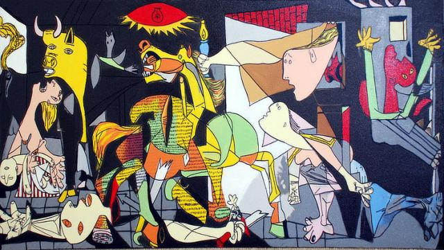 Immagine Allegata: steve_kaufman_homage_to_picasso_guernica.jpg