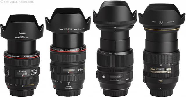 Immagine Allegata: f4-Zoom-Lens-Comparison-with-Hoods.jpg