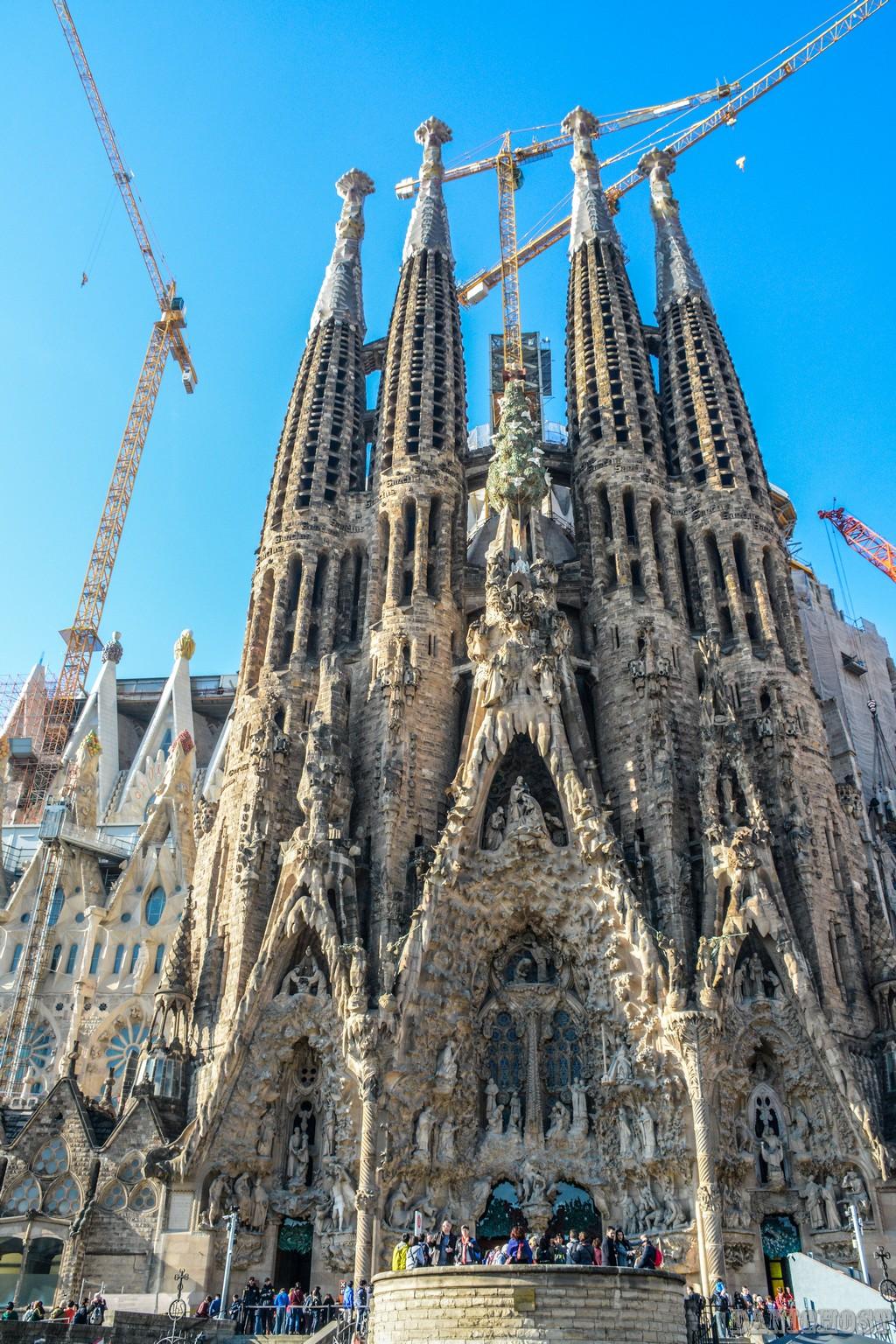 [viaggi] Lavori in corso Sagrada Familia